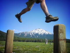 Mount Bachelor Leap